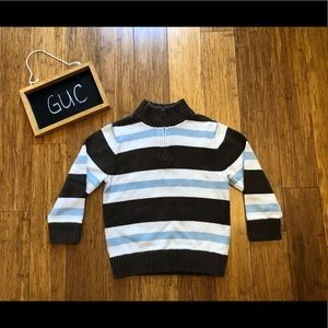 Boys 3/4 Great used Condition Gymboree sweater